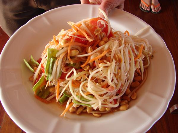 Ăn sụm Lào cay – món ngon xuýt xoa của người dân Hương Sơn