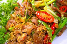 Dê Hương Sơn những món ăn nức tiếng